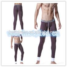 New Fleece-Lined Men's Warm pants Leggings Long johns Thermal Underwear