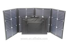 big power 80 watts high efficiency fabric solar panel,sunpower PV solar panel