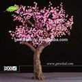 Gnw tr148-p01 artificial grandes árvores LED rosa azaléia árvore