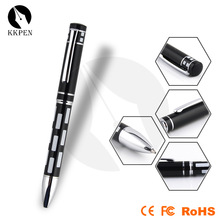 Jiangxin high quality popular metal pen for hotel with led light