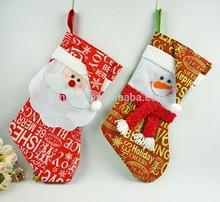 Hot Stock!! 45CM Personalized Christmas Stockings Holiday Stocking Gift