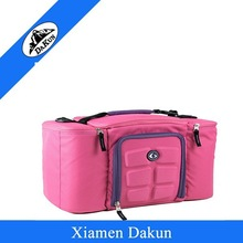 Tote and shoulder 6 pack fitness cooler lunch bag DK14-0593/Dakun
