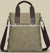 Fashion washed canvas men handbag