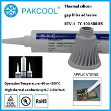 Strong structure bond thermal conductive non hardening silicon One-component gel with Automotive electronics