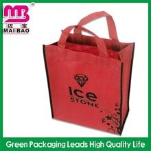 luxury matt lamination custom flower reusable shopping bag folding nylon bag