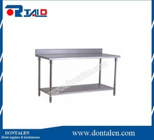 New stainless steel work bench kitchen food prep catering table