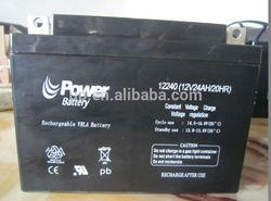 12 volt lead acid battery making machine rechargeable 12v24ah battery lead-acid battery