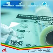 Manufacturer clear plastic transparent film waterproof 100 micron inkjet plotter pet polyester