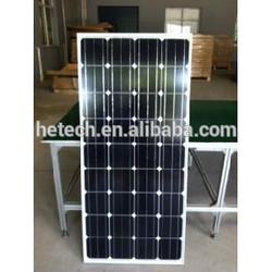 150W 12V cheap monocrystalline solar panel wholesale