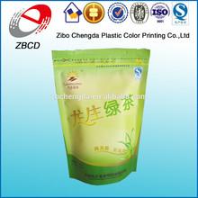 OEM free design green coffee tea bags with matt finish
