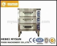 Eléctrico de acero inoxidable horno de panadería precio