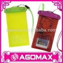 Customized OEM classic gift fashion pvc dry phone case