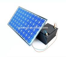 24V DC 185W Solar Photovoltaic Module Polycrystalline silicon solar cell panel