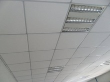 Smooth pattern Restaurant office hospital multiple designs 2014 Hot selling gypsum ceiling board tiles with edge taped