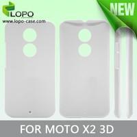 Blank 3D Sublimation Phone Case for Motorola X2