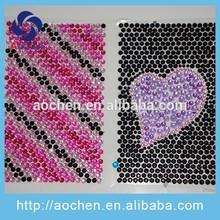 mobile phone rhinestone sticker acrylic sticker