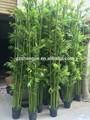 M-15 personalizado ao ar livre 800 cm de bambu Artificial falso alto de bambu para piscina parede paisagem decoração de bambu Artificial
