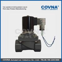 plastic anti corrosive 15W electric valve water medium solenoid valve