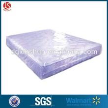 Transparente de plástico fundas de colchón colchón de polietileno de muebles cubre