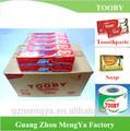 Tooby marca de calidad superior de China de pasta de dientes de contenedores