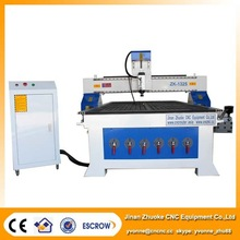 hybrid servo motor, MACH3 control, 6KW HSD spindle, china cnc wood router vacuum on sale ZK-1325 1300*2500mm
