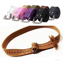 man canvas belt, cotton belt between stripes slimming belt, weaving printing casual leather belt