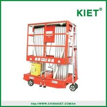 KIET Brand Aluminum hydraulic lift platform