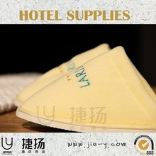 Coral fleece hotel indoor slipper Bathroom slipper High quality coral fleece hotel amenity slipper