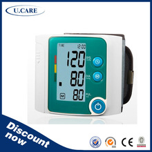 Automatic CE approved 2 Years Warranty 199 memory omron wrist blood pressure monitor