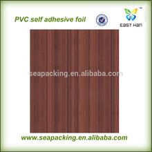 Classic design wood grain self adhesive vinyl wallpaper