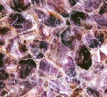 Amethyst geode water jet marble designs for counter top wall and flooring