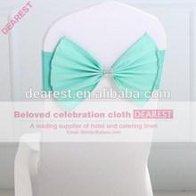 tiffany new model high quality hot selling fashion wedding chair sash
