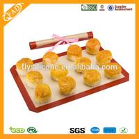 Best Gift Baking & Pastry Tools Type bpa free fiberglass silicone baking mat