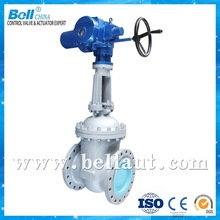Ductile Cast iron Wedge Stem Electric Gate Valve