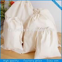 cotton sack bag cotton bag cotton drawstring bag