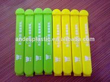 Economic professional give-away plastic bag sealer clips