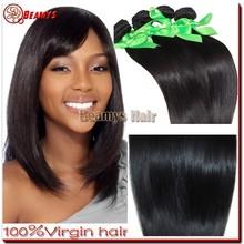 High quality full cuticle grade 6A hair, raw 100% virgin hair extensions shanghai