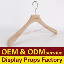 Garment Hangers for Displays, Cheap Wooden Clothes Hanger