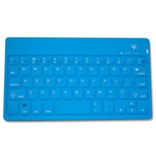 "7"", 10"" Silicone wireless mini bluetooth keyboard for iPad mini, iPad Air etc"