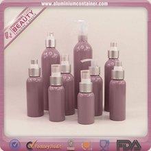 aluminum bottle, mist sprayer with over cap, cosmetic bottle