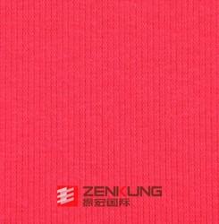 CVC 2*2 Spandex elastic Rib