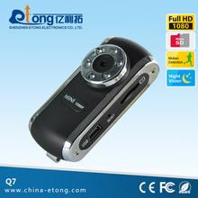 2.0 MP 1080P motion detect mini camera protable handheld DV