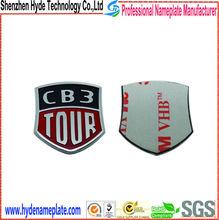 electroforming brand name 3d carved logo car nameplates