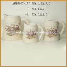 handmade terracotta water pots ceramic water pots plant pots XH14303 A7