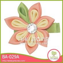The beautiful flower BA-029A hair barrette combs