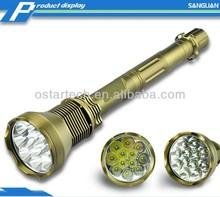 Army Grade 12000lm Powerful Police Emergency Flashlight SG-12K