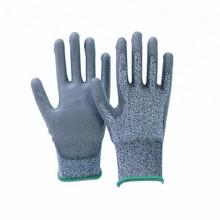 HPPE Polyurethane Coated Cut Resistant Level 3 Gloves 4342