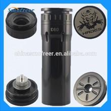 E cigarette stand big discount unique design vaporizer hades mechanical mod 3d dripper atomizer hades mod for copper hades mod