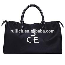 Custom jumbo travel bag men fancy nylon big travel bag
