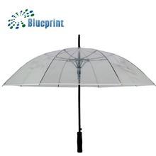 """23"""" straight rain transparent umbrellas for sale"""